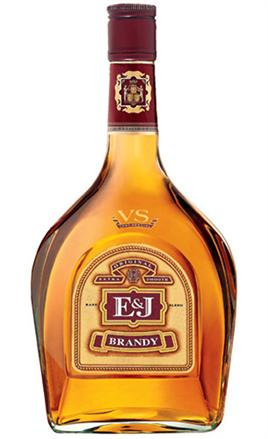 E & J Distillers Brandy VS